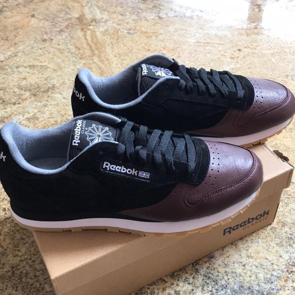 e66533df83710 Sale 💰 Men s Reebok cL Leather LS Size 10.5
